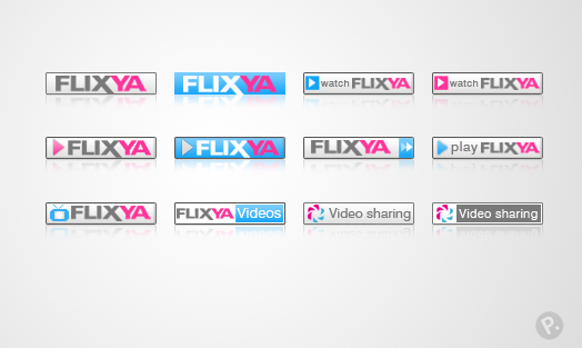 Flixya icons design