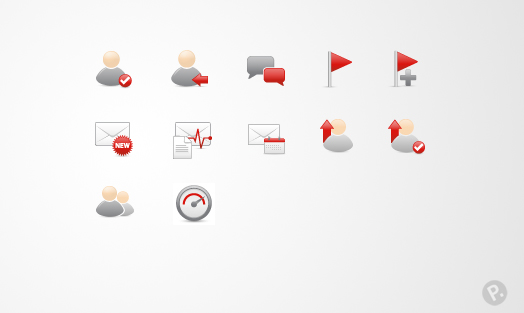 PocketLife icon designs