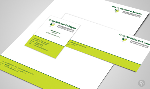 LWM business card design