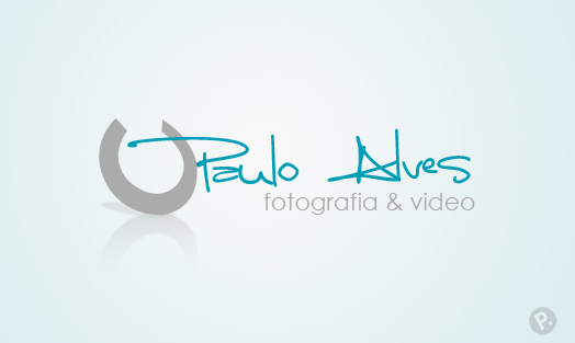 Paulo Alves logo design