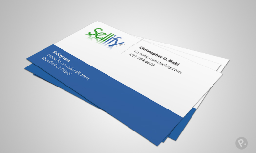 Sellify business card design
