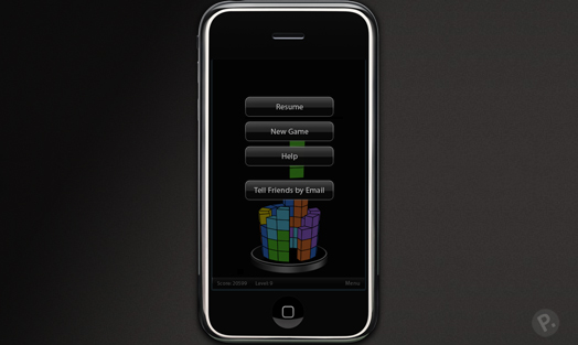 iPhone UI design
