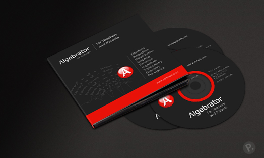 Algebrator CD case desing