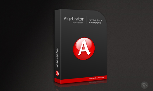 Algebrator software box design
