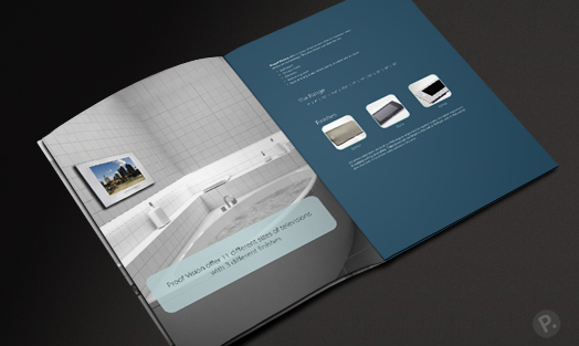 Proof Vision brochure design